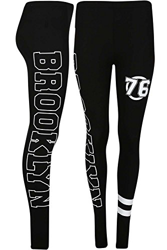 Be Jealous - Legging de sport - Femme * BROOKLYN Noir