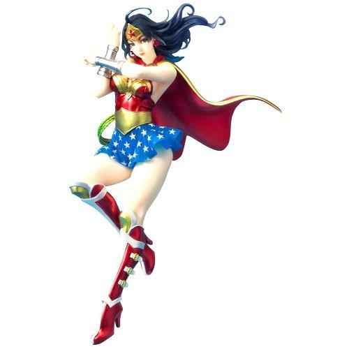 DC Comics Wonder Woman Bishoujo Statue blindé