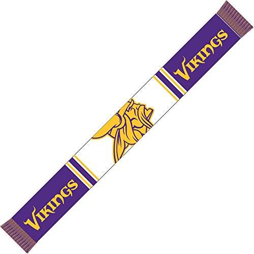 Forever Collectibles Minnesota Vikings Bar Scarf Colour Rush Purple/White - One-Size (Com Pullover Hässliche)