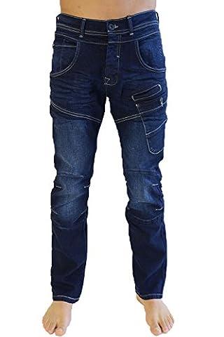 Crosshatch - Jeans - Homme bleu bleu - bleu - 44