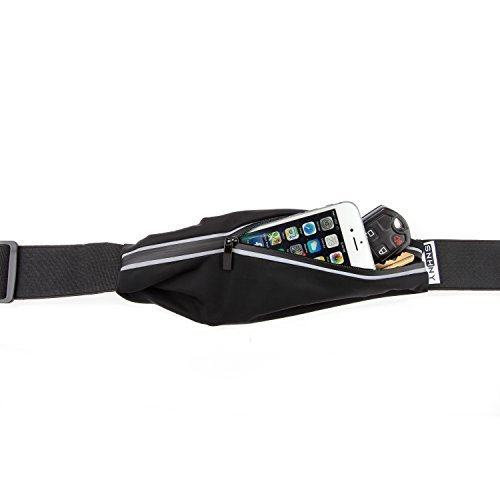 Top Fit Running Belt for Men + Women, Holds all