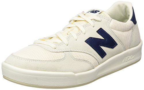 New Balance Crt300sm, Baskets Basses Homme Blanc - Weiß (White/Blue)