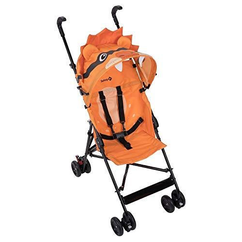 Safety 1st CRAZY PEPS 'Lion' - Silla de paseo, unisex, color naranja