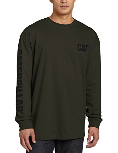 caterpillar-mens-trademark-banner-long-sleeve-t-shirtarmy-mossx-large