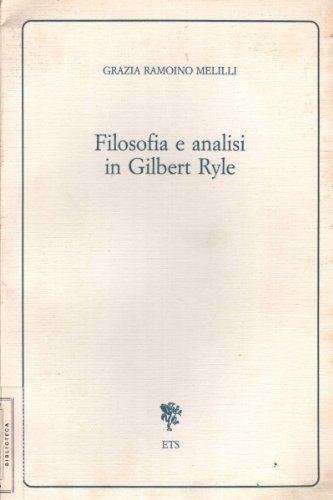 Filosofia e analisi di Gilbert Ryle