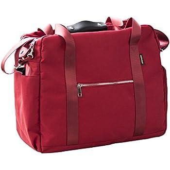 AOKE Sleek Spots Voyage Duffle Bagage Weekender Bag Flight Fourre-tout Fourre-tout Bagage Bagage Small Size Browns avec antivol gratuit 2CpdtM