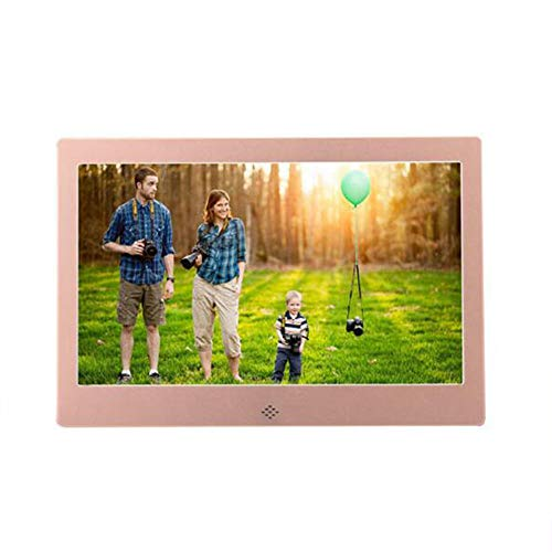 YUEC Digitales Foto-Bild Foto Smart elektronische WLAN-Cloud-E-Mail-Motion-Sensor Bluetooth drahtlosen USB-Stick enthält MP3-Video-Player,Pink (E-mail-bilderrahmen)