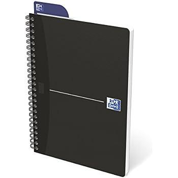 Esselte Leitz Collegeblock Office copertina in cartone laminato con 90 fogli a quadretti blocco da ufficio per appunti con fogli in formato A5 disponibile in colori assortiti