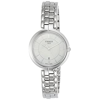 Tissot Reloj Analógico para Mujer de Cuarzo con Correa en Acero Inoxidable T0942101111100