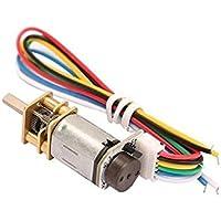 Shoaib Enterprises N20 3V 150RPM Micro Metal Gear DC Motor With Encoder