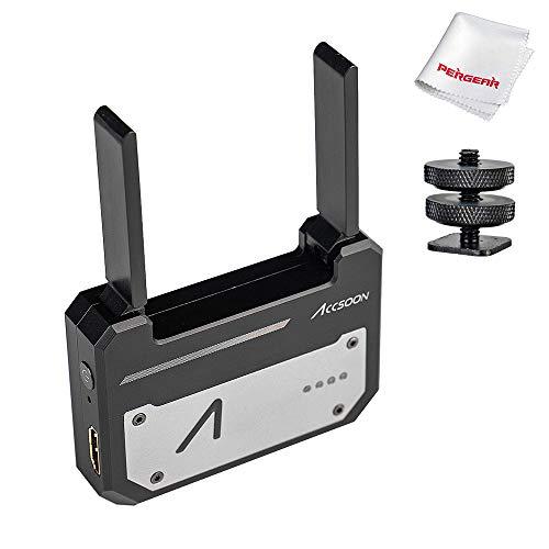 Accsoon CineEye 1080p HDMI Transmitter, Echtzeit-Videoüberwachung über WiFi, unterstützt 4 Android/iOS Geräte, Mit Funktionen überwachen RGB, Focus Peaking, 3D LUTs und False Color