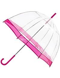 Totes Pink Dome Umbrella