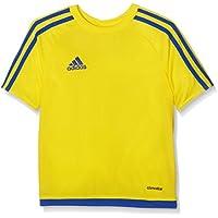 adidas Estro 15 JSY - Camiseta para hombre, color amarillo / azul, talla 116