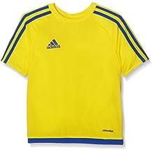 adidas Estro 15 JSY - Camiseta para hombre, color amarillo/azul, talla 116