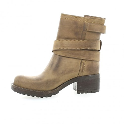 Pao Boots cuir nubuck taupe Taupe