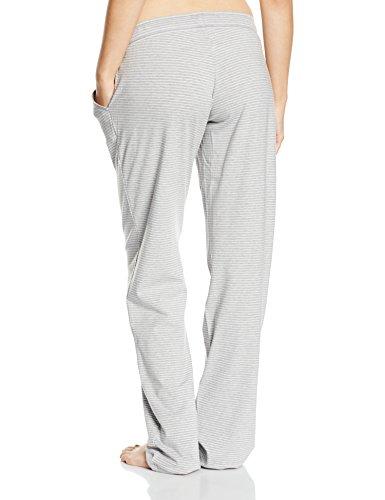 Skiny - Bas de pyjama Femme Multicolore (Stone Grey Stri 5729)