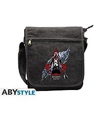 Unidad Assassins Creed - cresta roja insignia roja pequeña bolsa de mensajero