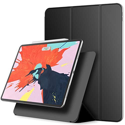 JETech Magnetisch Hülle für iPad Pro 12.9 Zoll (Modell 2018), Unterstützung für Apple Pencil 2, Generation Aufladung, Magnetische Befestigung, Abdeckung mit Auto Schlafen/Wachen Die 2. Generation Apple