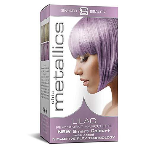 Permanente Haarfarbe, Lila, Pastellfarben, Metallic