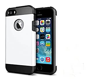 Nosson Back Cover for Apple iPhone 5s (White)