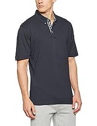 James+Nicholson Plain Poloshirt mit modischem Karoeinsatz JN 964