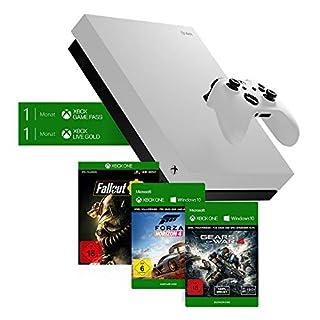 Microsoft Xbox One X 1TB - Fallout 76 Special Edition Weiß + Forza Horizon 4: Standard Edition (digital) + Gears of War 4 (digital) Bundle (B07L9KHWJ4)   Amazon Products