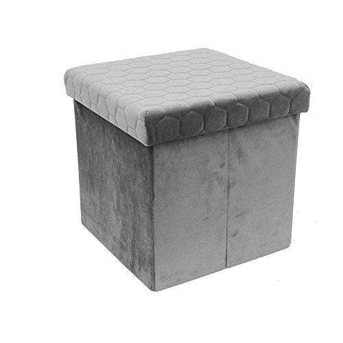 THE HOME DECO FACTORY Premiumqualität Sitzsack faltbar, Polyester, 37,5x 37,5x 38cm