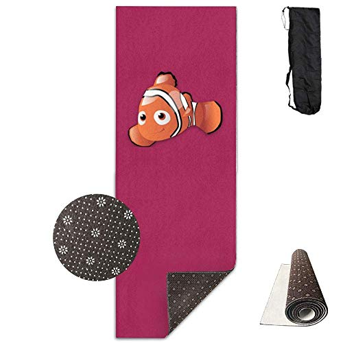 FGRYGF Clownfish Printed Design Yoga Mat Extra Thick Exercise & Fitness Mat Fit Yoga,Pilates,Core Exercises,Floor Exercises,Floor Exercises Elite Wall Mount
