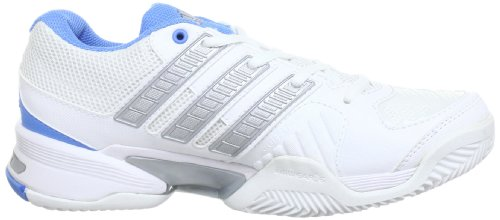 adidas Performance Response Team2 W Q21062 Damen Tennisschuhe Weiß (RUNNING WHITE FTW / METALLIC SILVER / JOY BLUE S13)