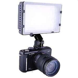 Pro 160-LED Video Camera Light for canon 1Ds,5D,6D,7D,50D,60D,70D,750D,600D,650D,700D,1300D,1200D,Nikon D810,D100,D7100,D7200,D5500,D5300,D3200,D3300,Olympus,Panasnic,Pentax,Fuji,Sony DSLR/SLR & Camcorders