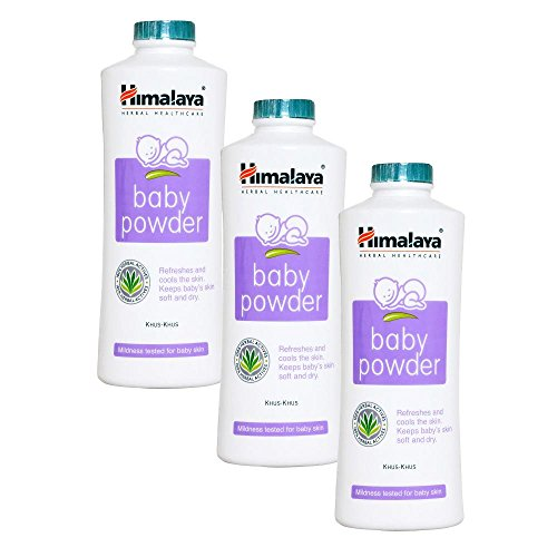 Himalaya Baby Powder (pack of 3) Baby Powders at amazon