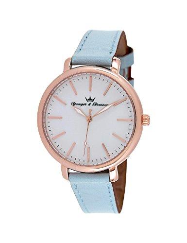 Reloj Yonger & Bresson Mujer Blanco–DCR 050/BG–Idea regalo Noel–en Promo