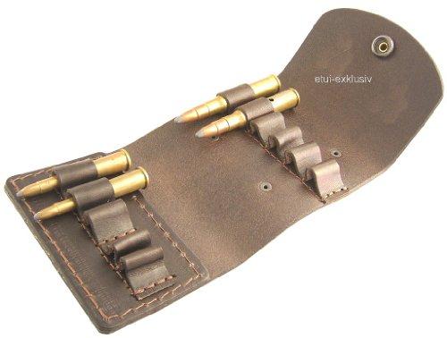 5 Kleine Leder (Leder Patronenetui 6 große, 5 kleine Kugeln, 100113.10Z)