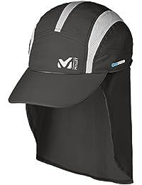 MILLET Long Distance CAP Gorra, Hombre, Gris, FR : L (Taille Fabricant : L)