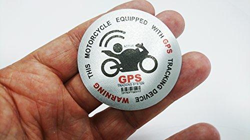 Alarma de moto X2impresión GPS seguimiento de alta Tack adhesivo en vinilo adhesivo adhesivo