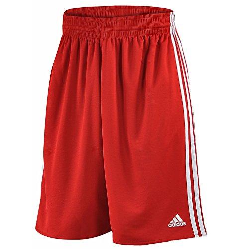 Adidas Team Reversible Herren Shorts Light, rot (Mesh Adidas Shorts)