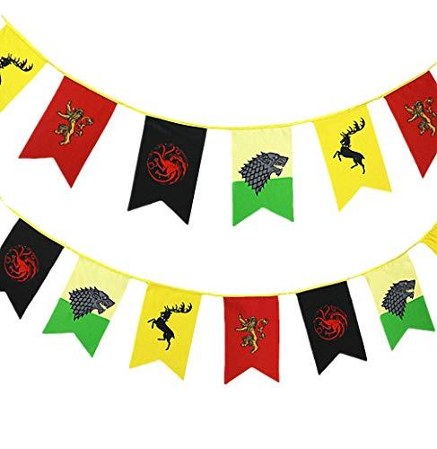 Juego de Tronos de la bandera, la bandera Juego de Tronos (3m 12pcs)