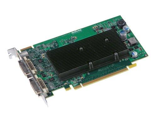 Matrox Computer-grafikkarten (Matrox M9120 Passiv Grafikkarte (PCI-e, 512MB DDR2 Speicher, Dual  DVI & VGA, 1 GPU))