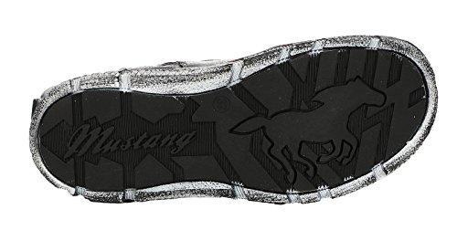 Stivali Da Donna Mustang Foderati Grigio (titanio) Blu