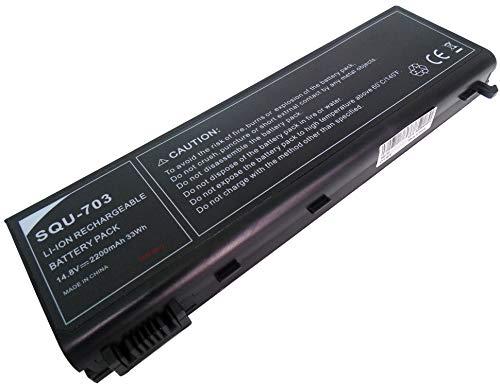 14,8V 2200mAh Batería SQU-703 SQU-710 EUP-P5-1-22 EUP-P5-1-24 segunda mano  Se entrega en toda España