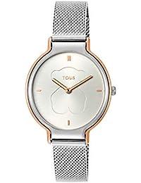 Reloj TOUS Real Bear bicolor de acero/IP rosado Ref:800350890