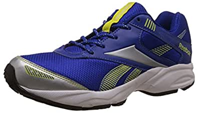 Reebok Men's Exclusive Runner 3.0 Blue,Silver,Green,White And Black Running Shoes - 11 UK