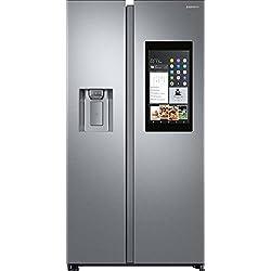 Samsung RS68N8941SL frigo américain Autonome Acier inoxydable 593 L A++ - Frigos américains (Autonome, Acier inoxydable, Américain, LED, R600a, Verre)