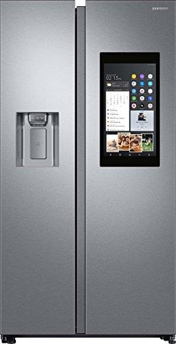 Samsung RS8000 FamilyHub RS68N8941SL/EF Side-by-Side/A++/178 cm/382 kWh/Jahr/383 L Kühlteil/210 L Gefrierteil/Food Cam & Food Reminder/Rezepte App/Silber [Energieklasse A++]