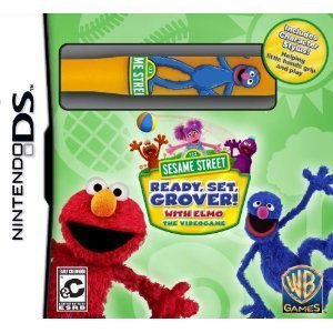 Sesame Street : Elmo's Ready, Set, Grover with Free Character