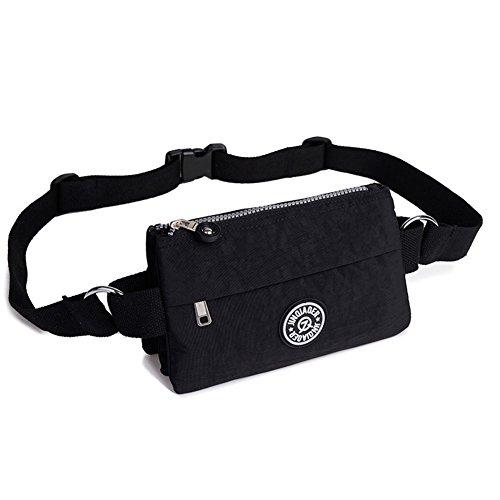 41mqBC9xl7L. SS500  - Badiya Women's Waist Bag Multifunction Lightweight Fanny Pack Adjustable Belt Bag
