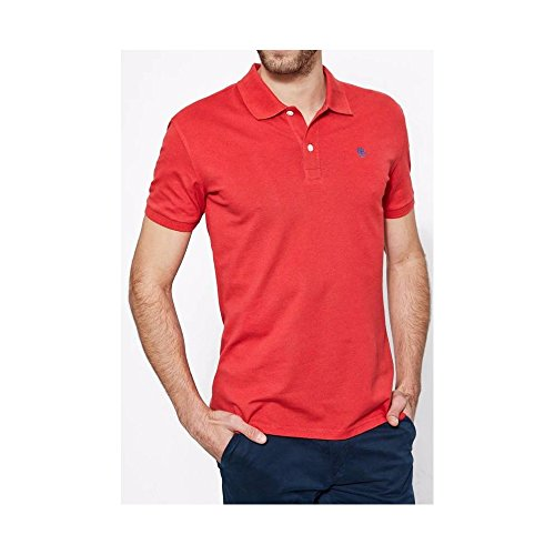 TIMBERLAND - Timberland Stonybrook Stretch Pique Polo Uomo Blu Slim Fit Rosso