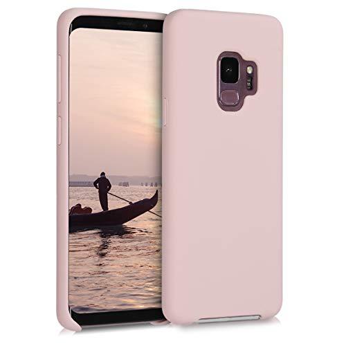 kwmobile Samsung Galaxy S9 Hülle - Handyhülle für Samsung Galaxy S9 - Handy Case in Hellrosa matt