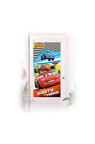 Dekoration-Cars RSN, 150x 75cm, Mehrfarbig ()