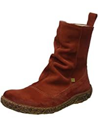 Ng52 Soft Grain Yggdrasil, Bottes et Bottines Indiennes Femme, Rouge (Rioja), 37 EUEl Naturalista